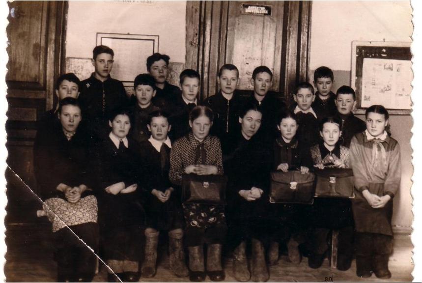 1956-1957-Сербилово-школа